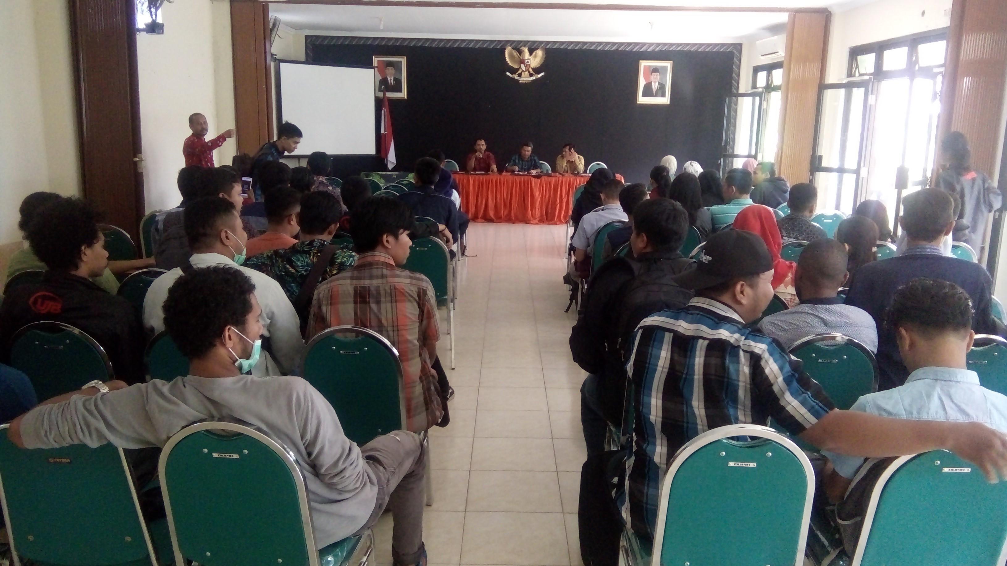 Penarikan Mahasiswa KKN UJB di Kecamatan Tegalrejo