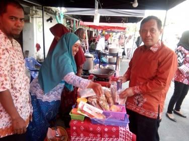 Operasi Pasar Murah, Turut Memeriahkan Gelar Potensi UMKM Tegalrejo