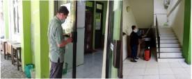 Aksi Jum'at Bersih Di Kantor Kecamatan Tegalrejo, Antisipasi Penyebaran Virus Corona