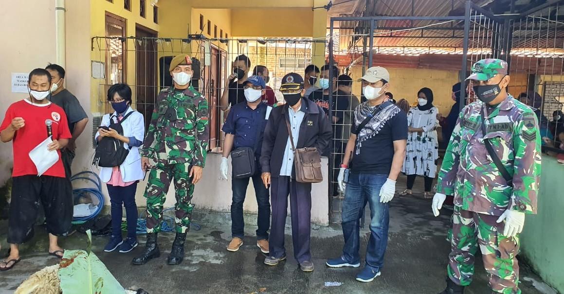 Monitoring Wilayah Antisipasi Penyebaran Covid-19 Pada Pelaksanaan Iduladha 1442H