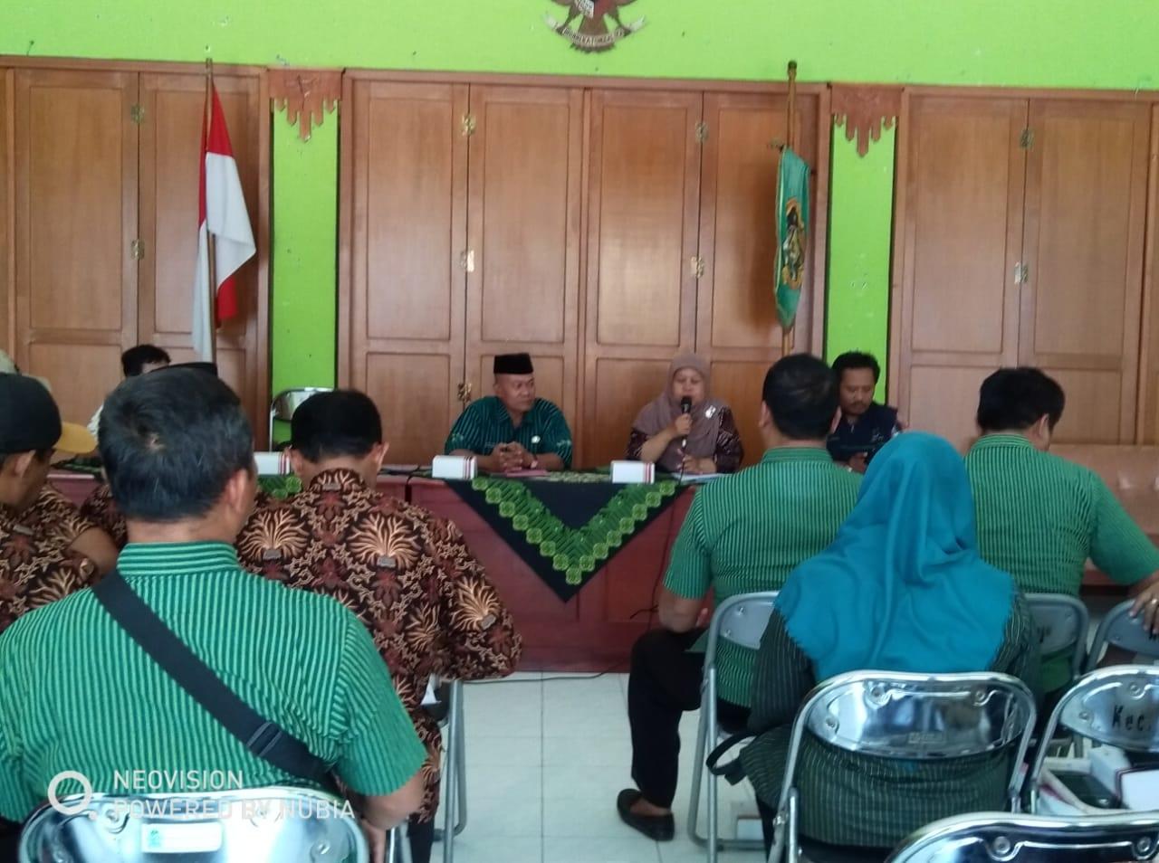 Penerimaan Tamu Studi Banding dari Kec Rawalo Kab Banyumas